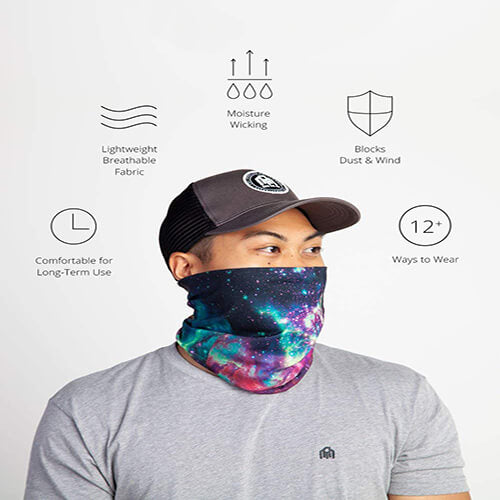 Dust and UV protection seamless neck protection mask ($15 free shipping)
