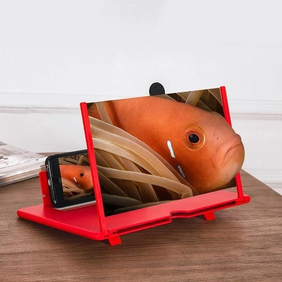 Smartphone 3D screen magnifier