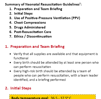Oakes Neonatal/Pediatric Pocket Guide