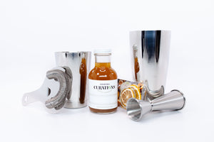 Cocktail Curations 4pc. Shaker Tool Kit