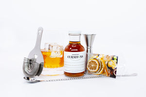 Stainless Steel Cocktail Tool Kit w/ Mixing Glass