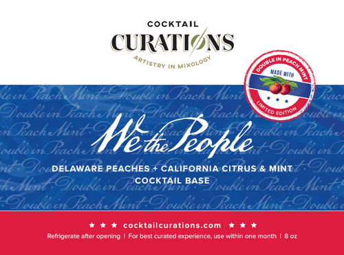 Cocktail Curations - Double In Peach Cocktail Base