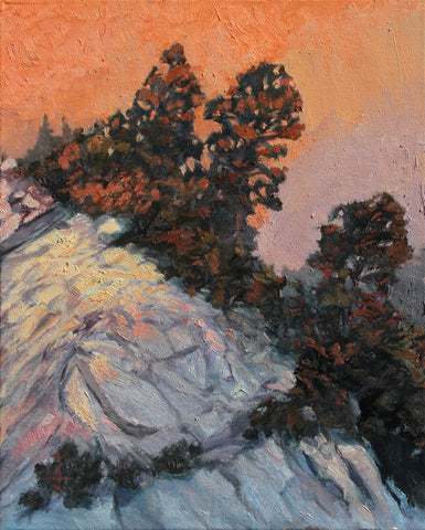 Idyllwild - Framed Canvas Print