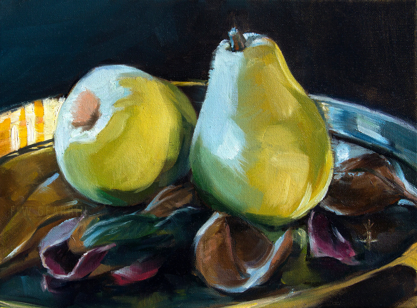 Morning Pears - Fine Art Paper Print