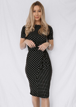 Load image into Gallery viewer, The Dorothy Polka Dot Dress