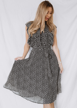 Load image into Gallery viewer, The Leopard Ruffle Dress