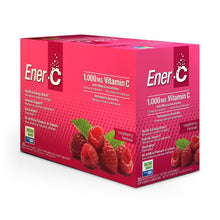 Load image into Gallery viewer, Ener-C Raspberry Multivitamin Drink Mix - 1,000mg Vitamin C