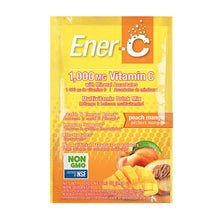 Load image into Gallery viewer, Ener-C Peach Mango Multivitamin Drink Mix - 1,000mg Vitamin C