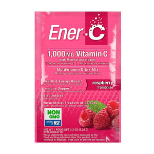 Ener-C Raspberry Multivitamin Drink Mix - 1,000mg Vitamin C