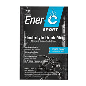 Ener-C Sport Electrolyte Drink Mix - Mixed Berry
