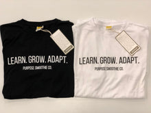Load image into Gallery viewer, Learn Grow Adapt Tee
