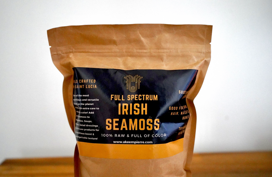 Full Spectrum Irish Seamoss Bag 1/2lb bag (227g)