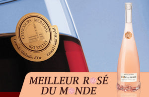 Best Rosé of the World at the Brussels International Competition