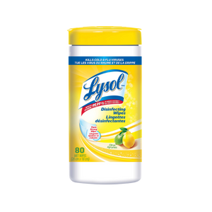 Lysol Disinfectant Wipes (80 wipes)