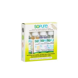 SoPure Sanitizer 4 Pack (2oz x 4 scents)