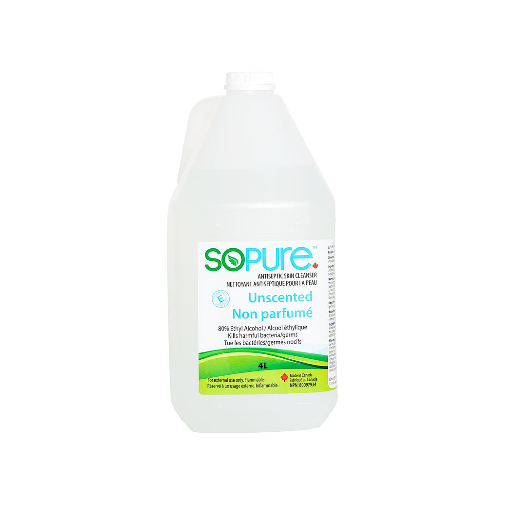 SoPure 4L Refill Sanitizer Unscented