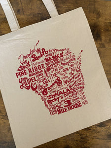Wisconsin Supper Club Tote Bag
