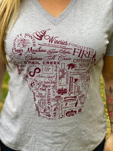 Wineries of Wisconsin T-Shirt