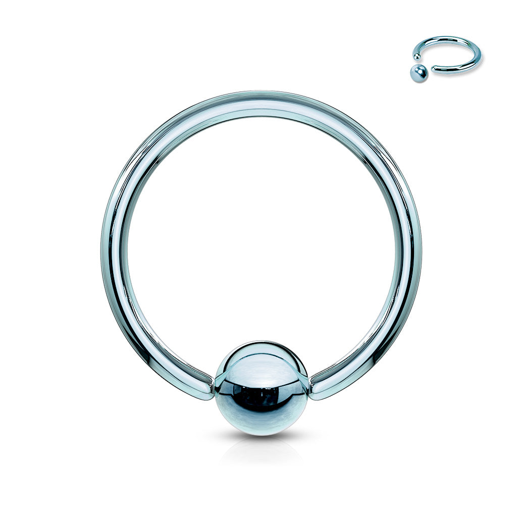 TITANIUM IP CAPTIVE BEAD RING