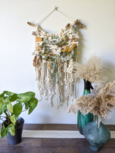 Load image into Gallery viewer, Macrame Extra Textured Wall Hanging - Moss Colours