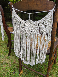 Macrame Chair Covers