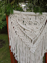 Load image into Gallery viewer, Extra Detailed Medium-Sized Macrame Ceremony Backdrop - String Theories Fiber Design