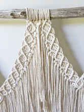 Load image into Gallery viewer, Macrame Wall Hanging - Triple Fringe - String Theories Fiber Design