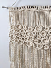 Load image into Gallery viewer, Macrame Square Bubbles - String Theories Fiber Design