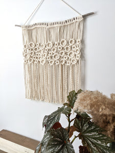 Macrame Square Bubbles - String Theories Fiber Design