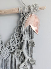 Load image into Gallery viewer, Flower Crown Macrame Hanging - Bravo - String Theories Fiber Design