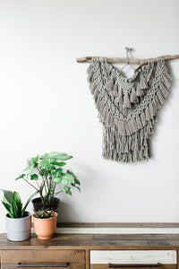 Extra Layered Macrame Wall Hanging - Sage Green