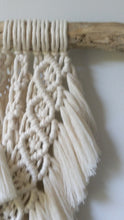 Load and play video in Gallery viewer, Extra Layered Macrame Wall Hanging - Sage Green
