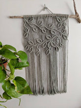 Load image into Gallery viewer, Macrame Vines and Leaves Wall Hanging - Horizontal
