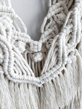 Load image into Gallery viewer, Macrame Wall Hanging - Mini White Fringe