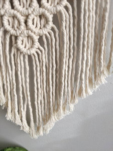 Macrame Mini Bubbles Wall Hanging