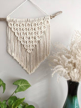 Load image into Gallery viewer, Macrame Mini Bubbles Wall Hanging