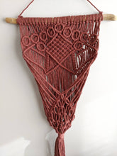 Load image into Gallery viewer, Macrame Wall Plant Hanger - Marsala