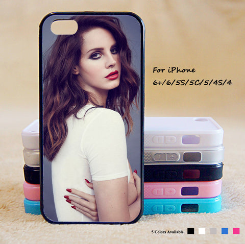 LANA DEL REY Phone Case For iPhone 6 Plus For iPhone 6 For iPhone 5/5S For iPhone 4/4S For iPhone 5C