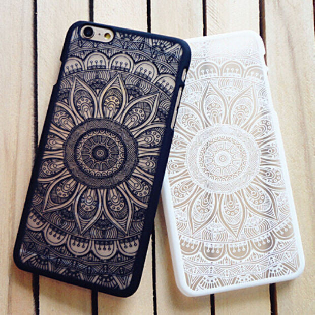 super popular 1b57a 88e42 Fashion Vintage Lace Floral iPhone 7 7 Plus 5 5s iPhone 6 6s Plus Case  Cover +Nice Gift Box !