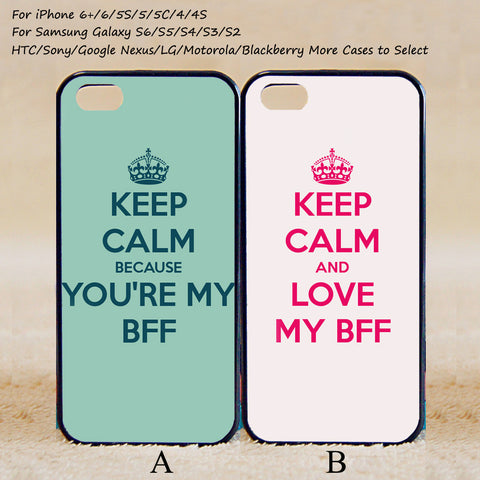 Couple Case,Best Friends Forever,Custom Case,iPhone 6+/6/5/5S/5C/4S/4