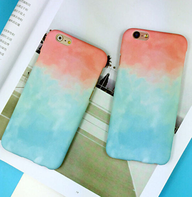 quality design c725f 24f7e Tie-Dye mobile phone case for iphone 5 5s SE 6 6s 6 plus 6s plus + Nice  gift box 072301