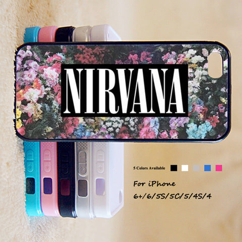 NIRVANA Phone Case For iPhone 6 Plus For iPhone 6 For iPhone 5/5S For iPhone 4/4S For iPhone 5C iPhone X 8 8 Plus