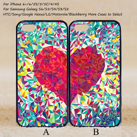 Couple Love Case,Custom Case,iPhone 6+/6/5/5S/5C/4S/4