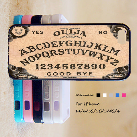 Ouija Spirits Board Phone Case For iPhone 6 Plus For iPhone 6 For iPhone 5/5S For iPhone 4/4S For iPhone 5C iPhone X 8 8 Plus