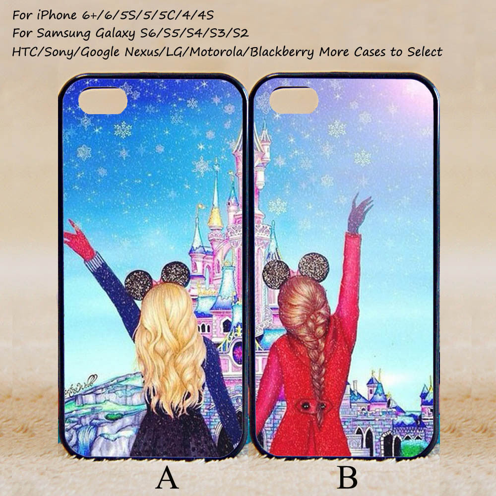 new arrival cf972 153fd Best Friends Forever Couple Case,Custom Case,iPhone 6+/6/5/5S/5C/4S/4