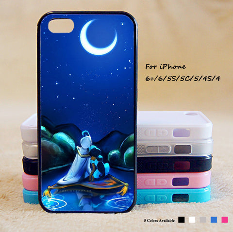 Aladin Princess Phone Case For iPhone 6 Plus For iPhone 6 For iPhone 5/5S For iPhone 4/4S For iPhone 5C iPhone X 8 8 Plus