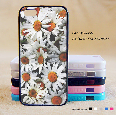 Chrysanthemum Phone Case For iPhone 6 Plus For iPhone 6 For iPhone 5/5S For iPhone 4/4S For iPhone 5C iPhone X 8 8 Plus