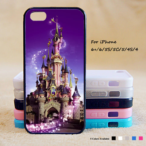 Disney Castle Phone Case For iPhone 6 Plus For iPhone 6 For iPhone 5/5S For iPhone 4/4S For iPhone 5C3 iPhone X 8 8 Plus
