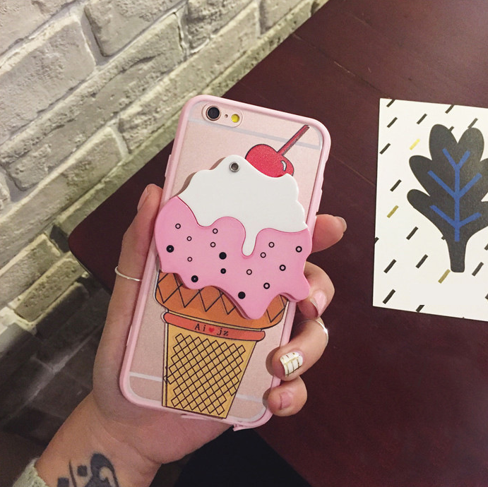 cover iphone 6 lovely ice cream