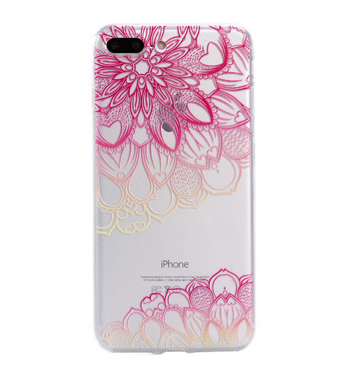 reputable site f8be2 8aa11 Rose red FLOWER Phone Case Cover for Apple iPhone 7 7 Plus 5S 5 SE 6 6S 6  Plus 6S Plus + Nice gift box! LJ161005-005